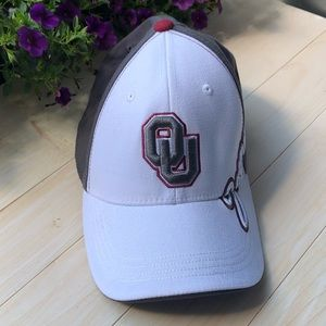 OU Oklahoma University Fitted Sooners Hat